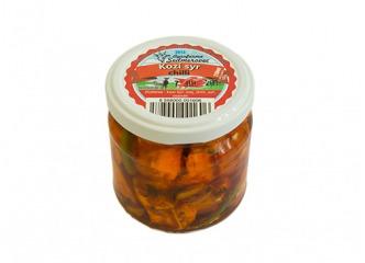 Nakladaný kravsky syr - chilli 210ml