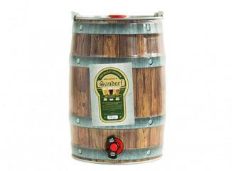 Pivo sandorf pšeničné 12° 5l