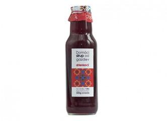 Domáci sirup od gazdov - drienka 750 ml