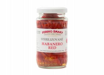 Sterilizované Habanero Red 212ml