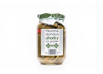 Domáce uhorky s chilli od Gazdov 430g
