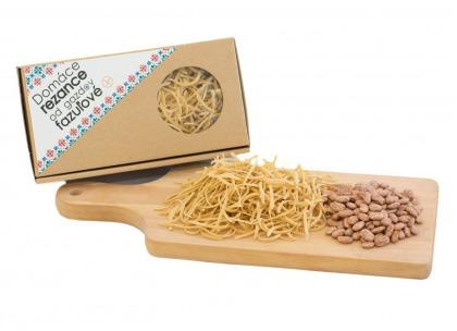 Domáce rezance od Gazdov - fazuľové 250 g