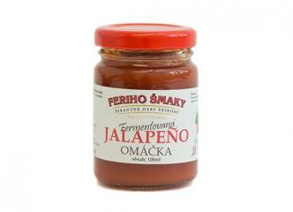 Omáčka z jalapeňo papričiek Fermentovaná 100ml