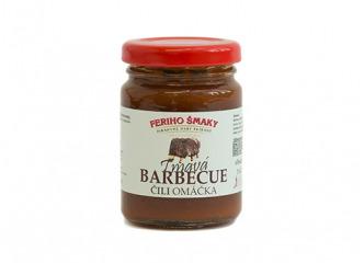 Tmavá barbecue omáčka 100ml