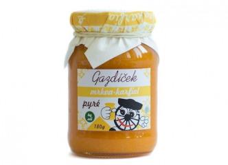 Gazdíček mrkva - karfiol pyré