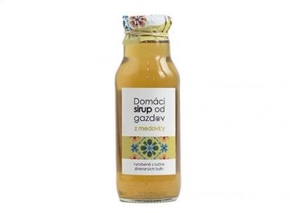 Domáci sirup od gazdov - medovka 300 ml