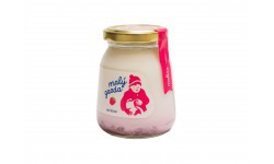 Jogurt bez éčok malina Malý gazda 200 g