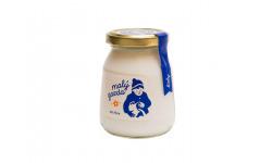 Jogurt bez éčok biely Malý gazda 200 g
