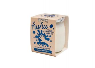 Ňuňu smotanový biely jogurt 115g