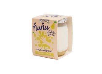 Ňuňu smotanový hruškový jogurt 115g