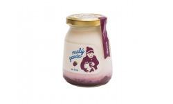 Jogurt bez éčok černica Malý gazda 200 g