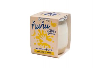Ňuňu smotanový banánový jogurt 115g