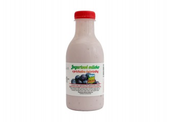 Jogurtové čučoriedkové mlieko 500ml