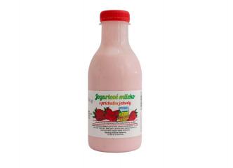Jogurtové jahodové mlieko 500ml