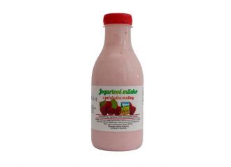 Jogurtové malinové mlieko 500ml