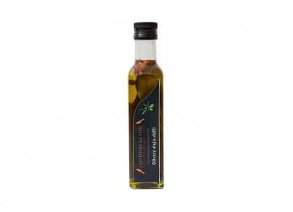 ZĽAVA Olivový olej s chilli a bylinkami 0,25l