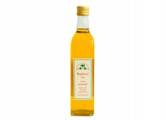 ZĽAVA Repkový olej panenský 0,25l