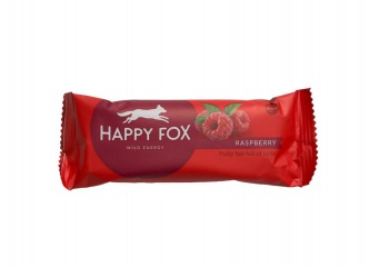 HAPPY FOX – Malinová tyčinka 50g