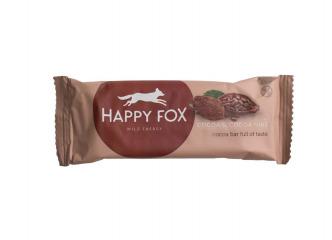 HAPPY FOX – Kakaová tyčinka s kakaovými bôbami 50g