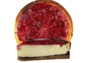 Nugátovo-ovocný cheesecake