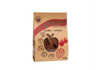 Ovocné snejky jablko - malina 45g