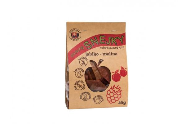 Ovocné snejky jablko-malina 45 g BioRio