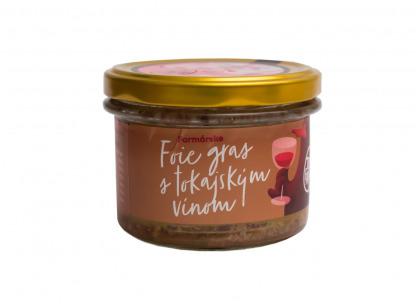 Foie gras s tokajským vínom 150g