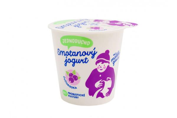 Jednoducho smotanový jogurt čučoriedka 140g