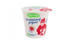 Jednoducho smotanový jogurt jahoda 140g