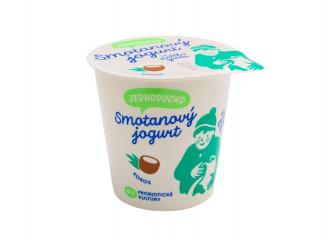 Jednoducho smotanový jogurt kokos