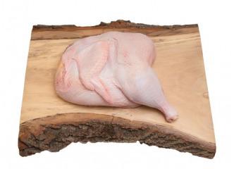 Gazdovská sliepka s drobkami polovica 1,5 kg - Topoľnica