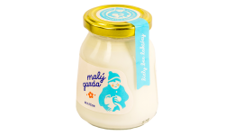 Jogurt bez éčok biely bez laktózy Malý gazda 200 g