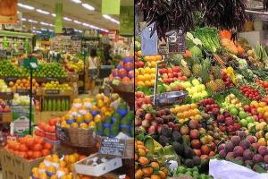Potraviny zo supermarketov vs. potraviny z lokálnych fariem
